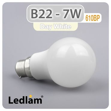 B22 LED 7W 610BP - neutral weiß