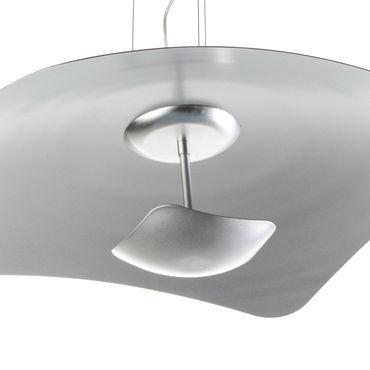 LED Pendelleuchte rechteckig flach Silber dimmbar mit Led Dimmer – Bild 7