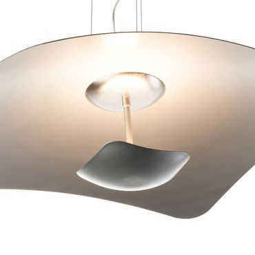 LED Pendelleuchte rechteckig flach Silber dimmbar mit Led Dimmer – Bild 8