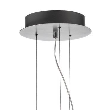 LED Pendelleuchte rechteckig flach Silber dimmbar mit Led Dimmer – Bild 9