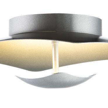 LED Deckenleuchte rechteckig flach Silber dimmbar mit Led Dimmer – Bild 6