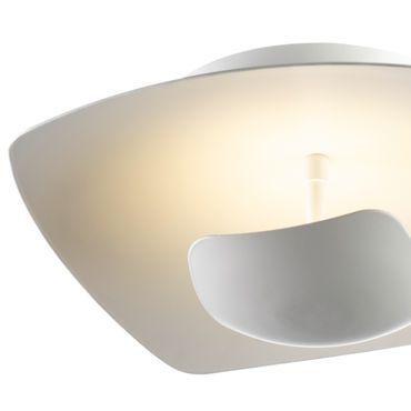 LED Deckenleuchte rechteckig flach weiß dimmbar mit Led Dimmer – Bild 8