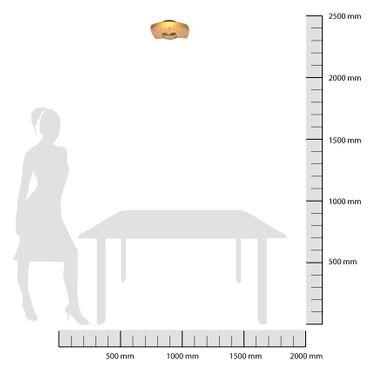 LED Deckenleuchte rechteckig flach weiß dimmbar mit Led Dimmer – Bild 9