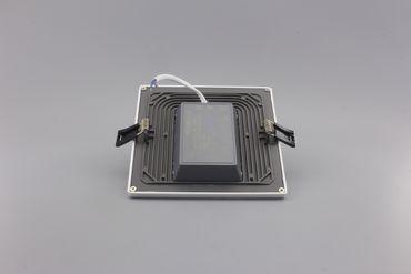 LED Einbaustrahler 16 Watt eckig warmweiß – Bild 2