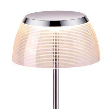 LED Tischleuchte chrom – Bild 2