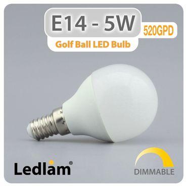 E14 LED Lampe 5 Watt neutralweiß dimmbar – Bild 2