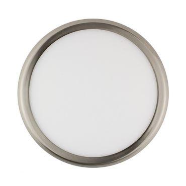 LED Aufbauleuchte 24 Watt rund 30cm - Design - Alu gebürstet - neutralweiß - dimmbar – Bild 2