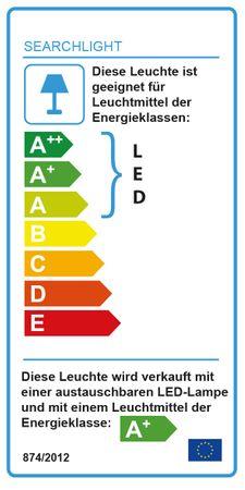 LED Deckenleuchte, Chrom, Kristallkugeln, neutralweiß, rund – Bild 4