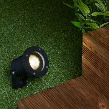 Bodenleuchte für den Außenbereich, Schwarz, Verstellbar – Bild 3