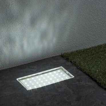 LED Einbauleuchte für den Boden, rechteckig, kaltweiß – Bild 2