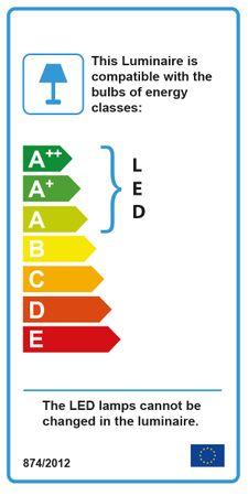 LED Deckenleuchte, Rustikales Rostbraun, Acrylglas, Spirale – Bild 5