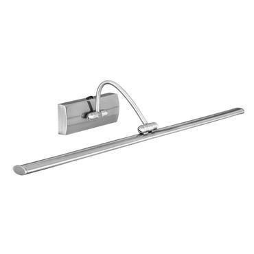 LED Bildbeleuchtung, Satin Silber, Einstellbar, Länge 38 cm – Bild 1