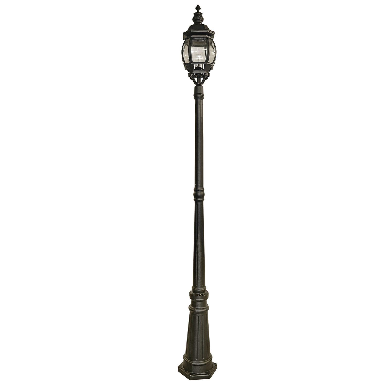 Stehlampe Für Den Garten Schwarz Laterne