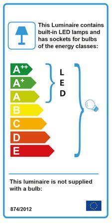 LED Wandleuchte, Einstellbar, Satin Silber, Weißes Glas – Bild 4