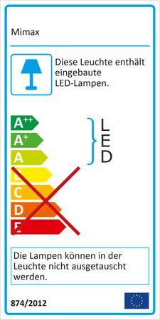 LED Pendelleuchte, Strahlenförmig, Aluminium, Weiß – Bild 3