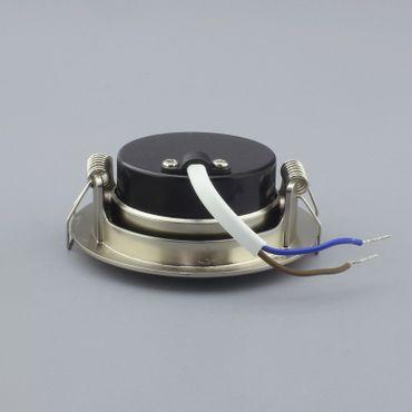 Einbauspot LED 5 Watt 3-STUFEN dimmbar - alu gebürstet - neutralweiß – Bild 4