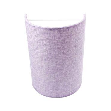 Wandleuchte Textil Violett Purple