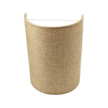 Wandleuchte Textil Sandfarben  – Bild 1