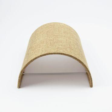 Wandleuchte Textil Sandfarben  – Bild 4