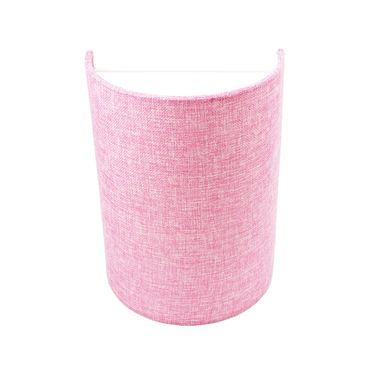 Wandleuchte Textil Pink Rosa – Bild 1