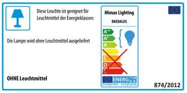 LED Pendelleuchte Röhrenform Silber satiniert - dimmbar – Bild 7