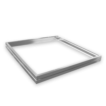 Aufputzrahmen für LED Panel 60 x 60cm, Farbe: alu – Bild 1