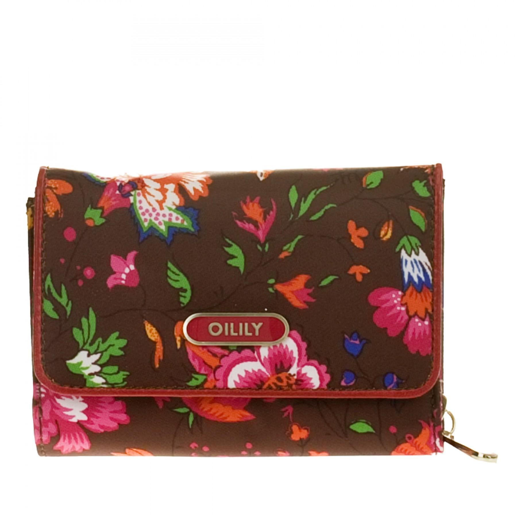 3ca07453329a1 Oilily Geldbörse S Wallet Winter Gift 2011 Burgundy Oilily Taschen ...