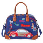 Room Seven Wickeltasche Car Pocket Blau F147003