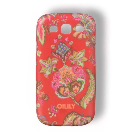 Oilily Summer Flowers Samsung Galaxy S3 Hülle Case Rose