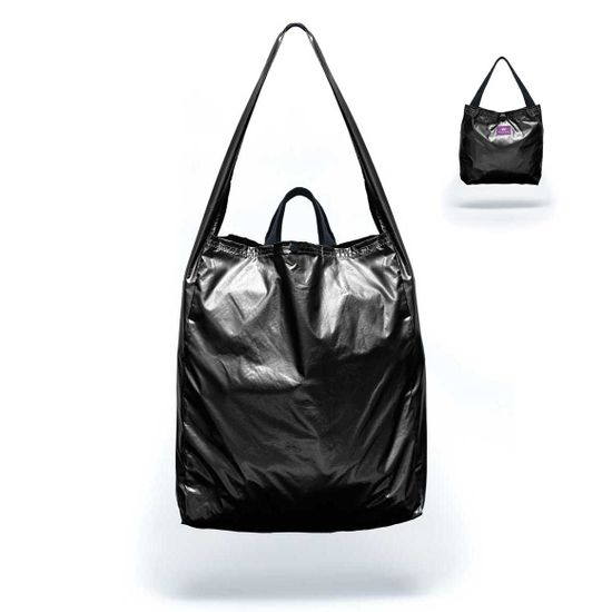 Think King Falttasche Reusable Tote Shiny Black