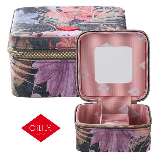 Oilily Schmuckkästchen Jewelry Case Flower Field Fig