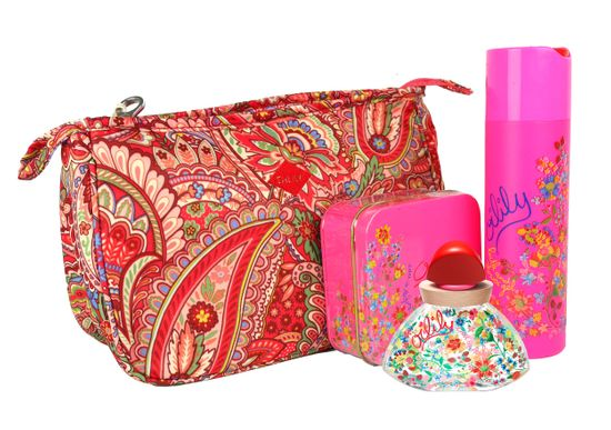 Oilily Eau de Parfum 30 ml + Bath & Shower Gel + Kosmetiktasche Raspberry