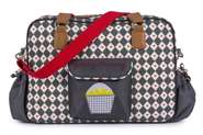 Pink Lining Wickeltasche Yummy Mummy Diamonds & Hearts 001