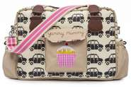 Pink Lining Wickeltasche Yummy Mummy London Cabs aka Bridget Jones