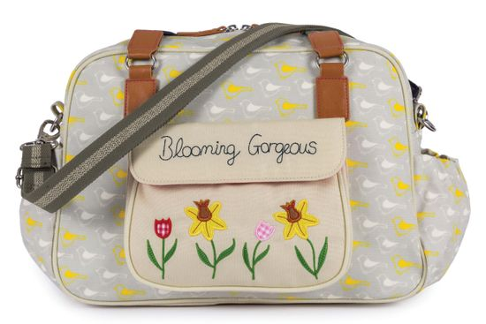 Pink Lining Wickeltasche Blooming Gorgeous Garden Birds