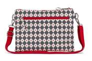 Pink Lining Mini Wickeltasche Mum on the Run Diamonds & Hearts