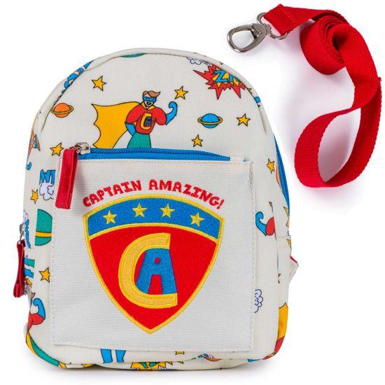 Pink Lining Kinderrucksak Mini Backpack Captain Amazing mit Sicherheitsleine