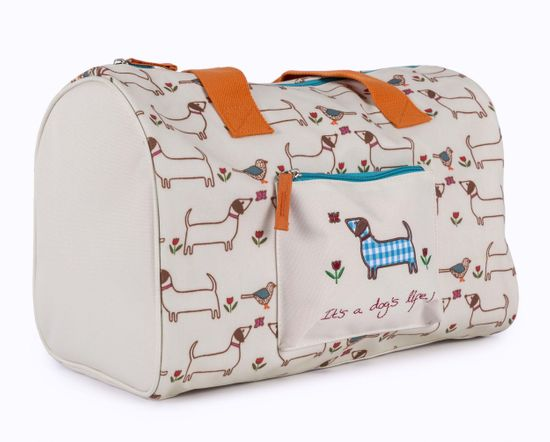 Pink Lining Kindertasche Overnight Bag It's a Dog's Life - Sausage Dog