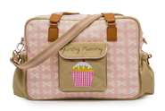 Pink Lining Wickeltasche Yummy Mummy Cream Bows on Pink