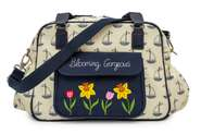 Pink Lining Wickeltasche Blooming Gorgeous Sailing Boats