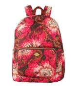 Oilily Rucksack Faltrucksack Casual Backpack Winter Flowers Wild Rose