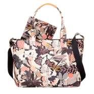 Oilily Wickelatsche Diaper Bag Botanic Pop Charcoal