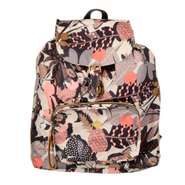 Oilily Rucksack Faltrucksack Folding Classic Backpack Botanic Pop Charcoal