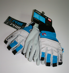 Pow Gloves Sniper es blue/grey