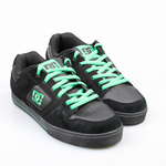 DC Schuhe Pure Slim Carbon/Emerald (CBE)