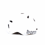 Bern Helm Macon Satin White Distress Logo (Summer Liner) Bild 3