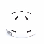 Bern Helm Macon Satin White Distress Logo (Summer Liner) Bild 2