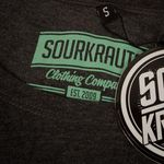 Sourkrauts Girlyshirt Let The Low Cars Roll Grau Meliert Bild 4