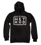 Method Hoodie Box Square Logo black