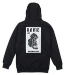 Rome Riding Hoodie Headbang black  Bild 2